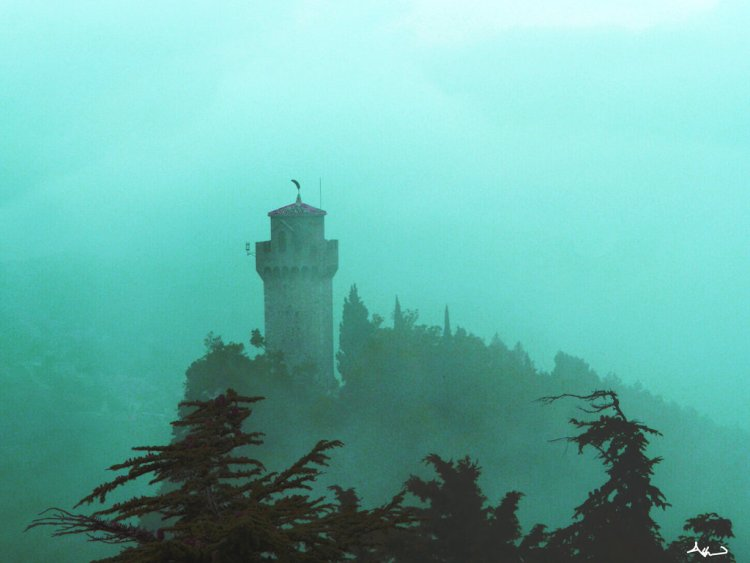 tower_in_the_mist_by_kagerot