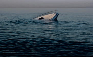 sinking-modern-large-white-boat-260nw-1208669056